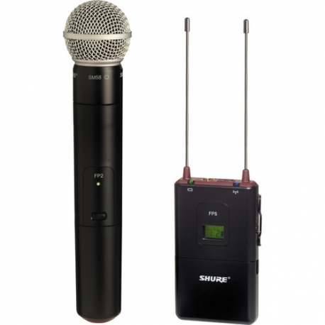 SHURE FP25/SM58 Wireless Handheld System