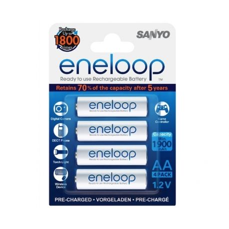 ENELOOP Battery Pack with 4 AA Batteries