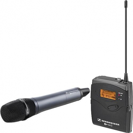 Sennheiser EW-135P G3 Camera Mount Wireless Microphone System with 835 Handheld Mic