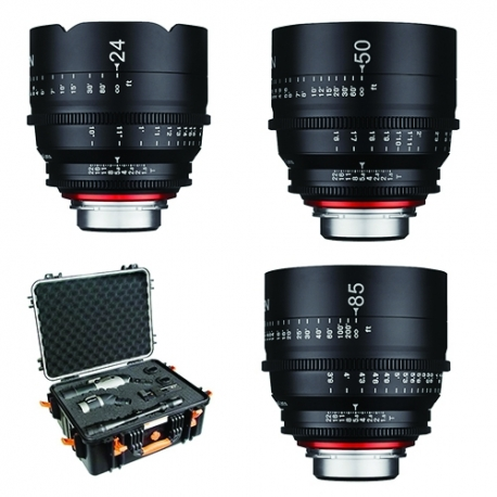 Samyang XEEN Kit 24, 50, 85mm T1.5 Lens