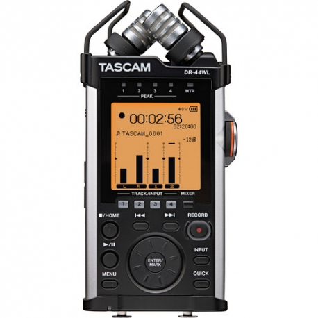 Tascam DR-44WL Portable Handheld Recorder with Wi-Fi