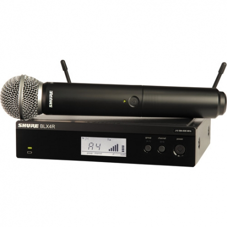 Shure BLX24 Handheld Wireless System with SM58 Mic