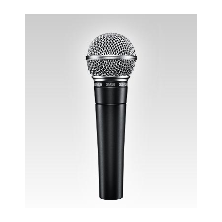Shure SM58-LC Cardioid Handheld Dynamic Microphone