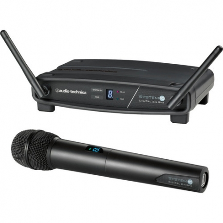 Audio-Technica ATW-1102 System 10 Digital Wireless Handheld Microphone Set