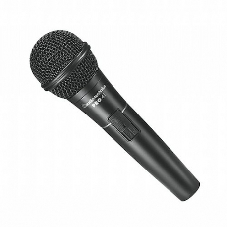 Audio-Technica PRO41 Cardioid Dynamic Handheld Microphone