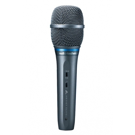 Audio-Technica AE5400 Large-Diaphragm Cardioid Condenser Handheld Microphone
