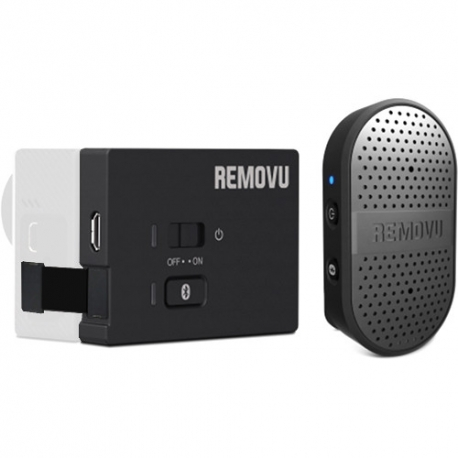 REMOVU M1+A1 Waterproof Bluetooth Microphone for GoPro