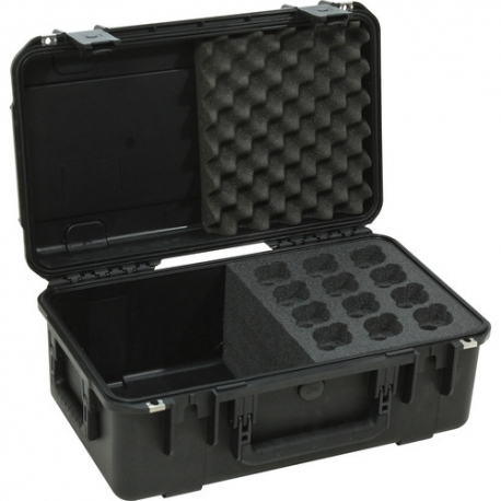 SKB iSeries Case for 12 Mics & Cables