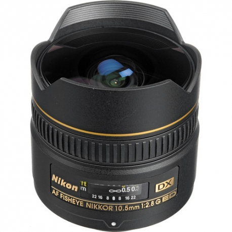 Nikon 10.5mm F2.8G ED DX Fisheye Lens
