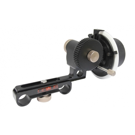 Genustech Bravo Deluxe Follow Focus with 0.8 Pitch Gear