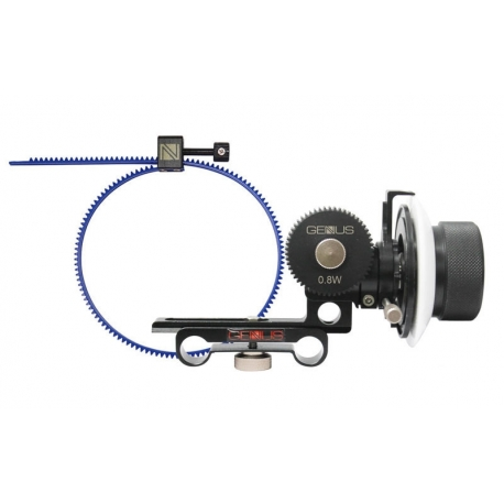 Genustech Bravo Deluxe Follow Focus System with 0.8 Pitch Gear and G-FG