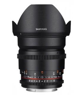 SAMYANG 16mm T2.2 VDSLR II Lens