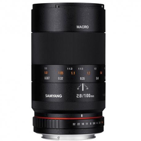 SAMYANG 100mm F2.8 Macro ED UMC Lens