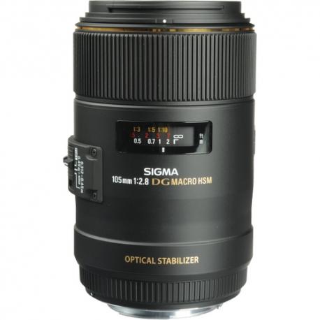 SIGMA 105mm F2.8 EX DG OS HSM Lens