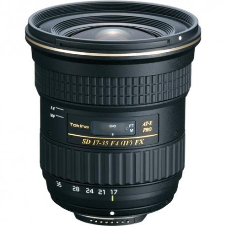 TOKINA 17-35mm F4 Pro FX Lens