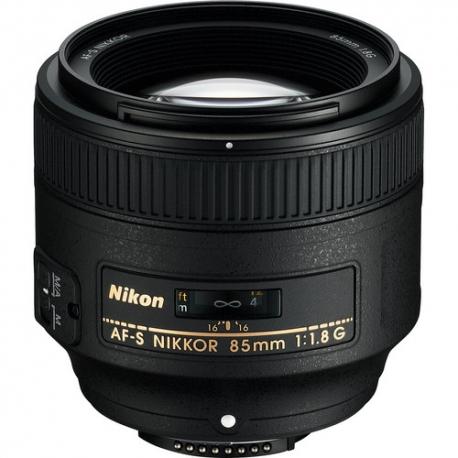 Nikon 85mm F1.8G FX Lens