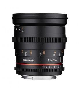 SAMYANG 20mm T1.9 VDSLR Lens
