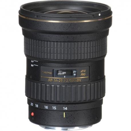 TOKINA 14-20mm F2 PRO DX Lens