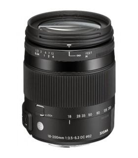 SIGMA 18-200mm F3.5-6.3 DC Macro OS HSM Lens