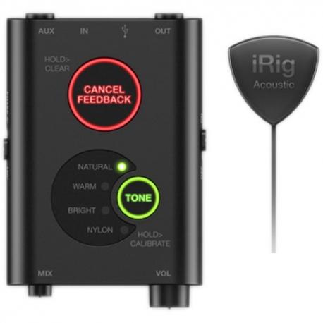 IK Multimedia iRig Acoustic Stage - Digital Microphone System for Acoustic Guitar