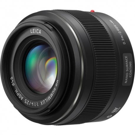 Panasonic 25mm F1.4 ASPH. Leica DG Summilux Lens
