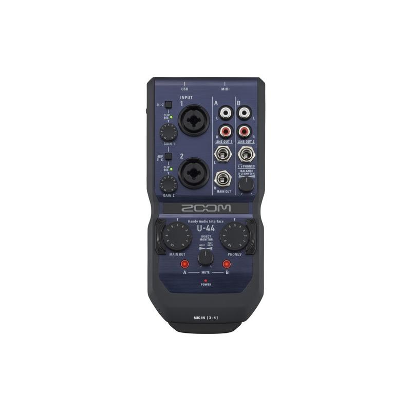 zoom u 44 dubai buy zoom audio interface from authorize uae reseller. Black Bedroom Furniture Sets. Home Design Ideas