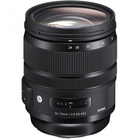SIGMA 24-70mm F2.8 EX DG IF HSM Lens