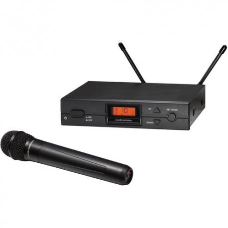 Audio-Technica ATW-2120bI Wireless Handheld Microphone System (bI: 487.125 to 506.500M Hz)