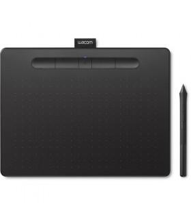 WACOM Intuos CTL-6100WLK Bluetooth Creative Pen Tablet (Medium, Black)