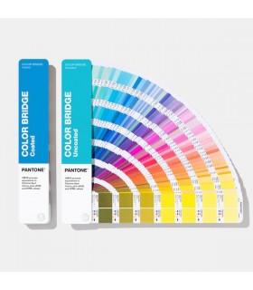 Pantone Color Bridge Guide Set Coated & Uncoated 2019